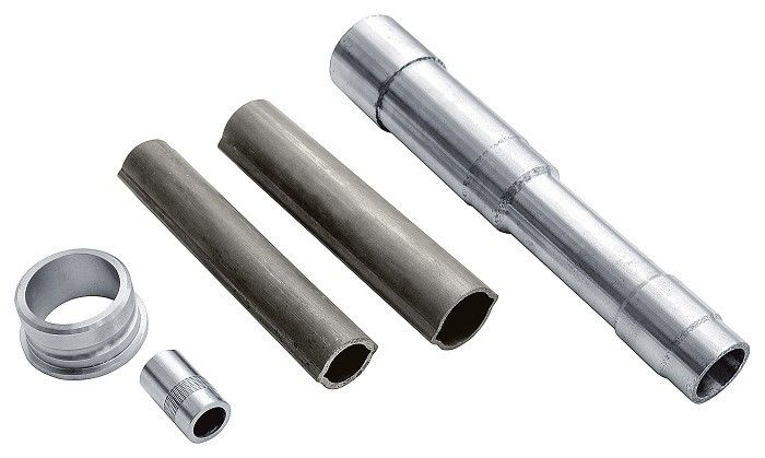 Automotive Welded Steel Tube High Precision Size 1.5 - 8 mm Wall Thickness